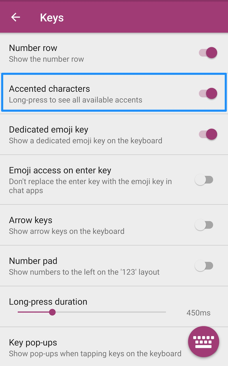 How do i insert accented characters swiftkey support how to access and enable accented characters swiftkey keyboard for android buycottarizona