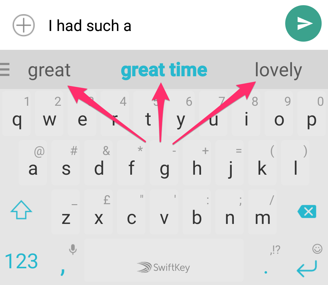 How does the SwiftKey Prediction Bar work? – SwiftKey Support